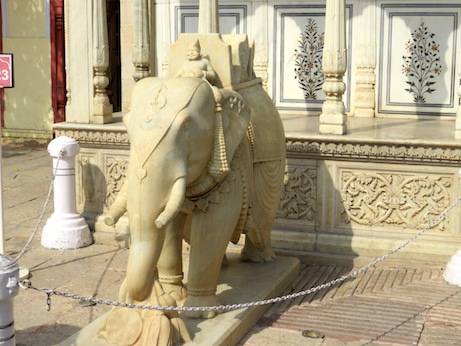 Elephant sculpture, Jaipur City Palace