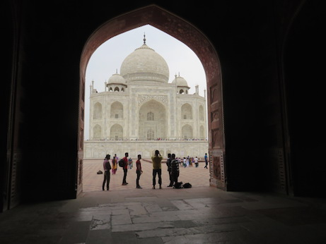 View of Mausoleum from Assembly Hall, Taj Mahal