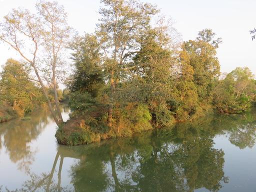 River near the Baagh Resort