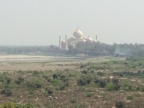 Shah Jahan's view of the Taj Mahal