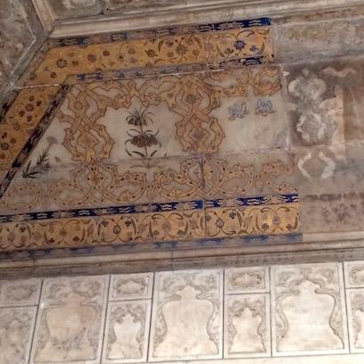 Restored ceiling, Shah Burj