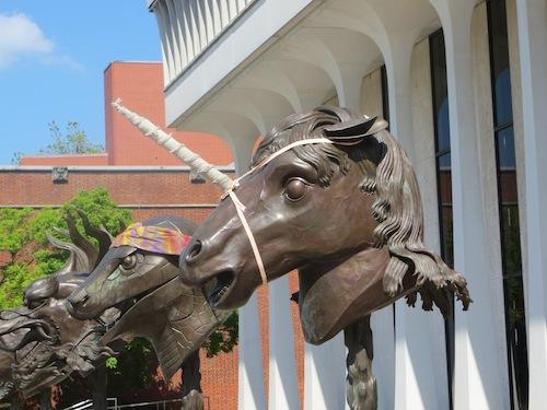 Ai Wei-wei Horse as a Unicorn