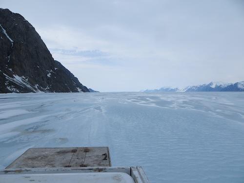 The Frozen Inlet
