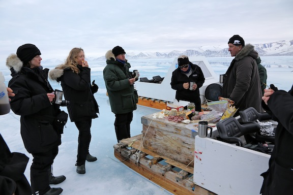 Luncheon on the ice